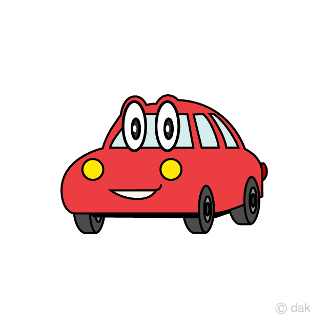 Red Car Character