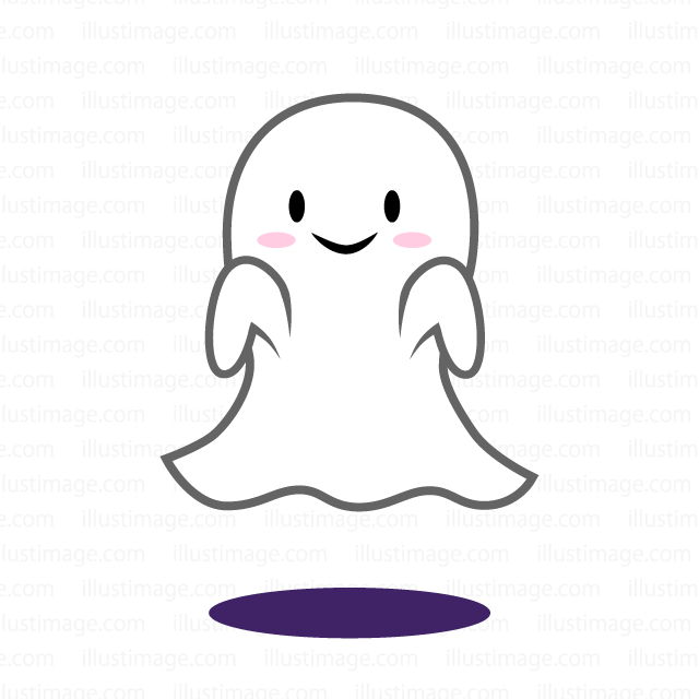 Cute Ghost clip art
