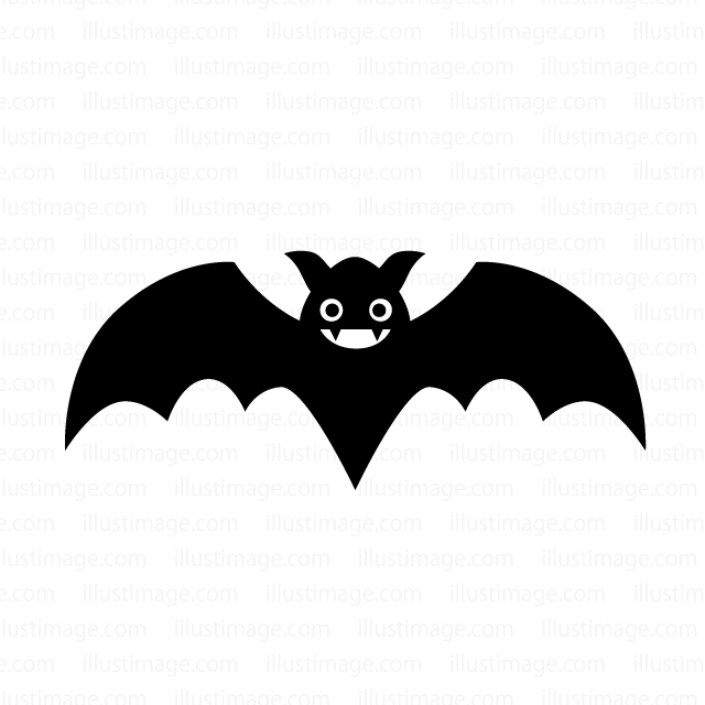 Cute bat clip art
