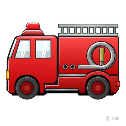 消防 車 イラスト カテゴリ - 日本最大級の画像素材サイト - PIXTA