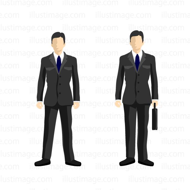 ビジネスマンの無料イラスト素材イラストイメージ
