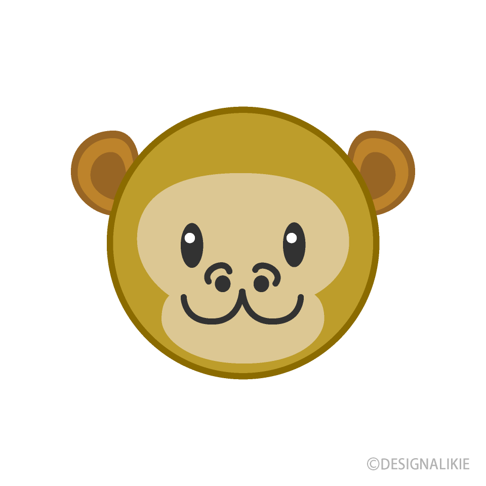Face of cute monkey