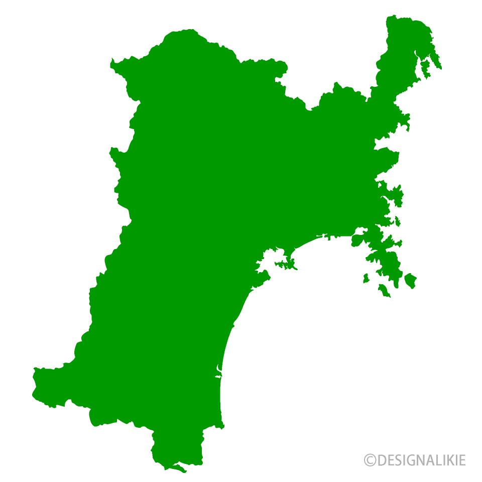 宮城県地図の無料イラスト素材|...