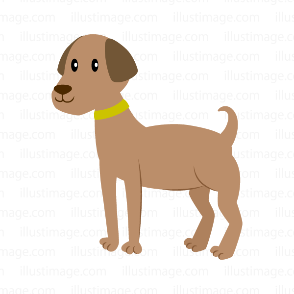 Large dog clip art