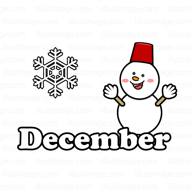 December and Snowman