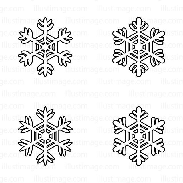人気の壁紙】 雪 結晶 イラスト , 壁紙、イラスト、キャラクター