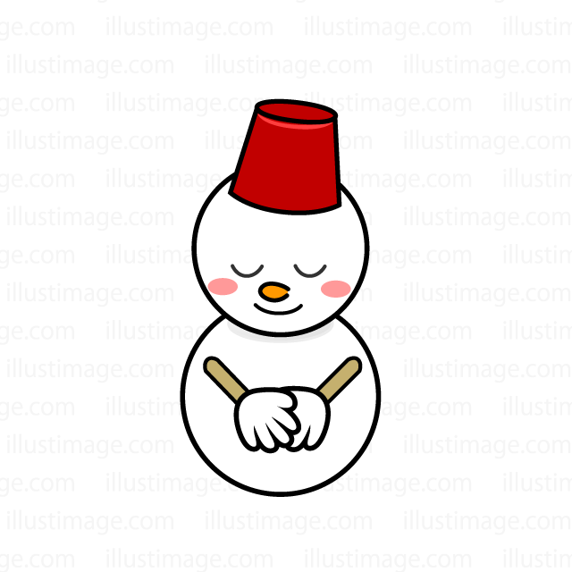 Snowman to bow
