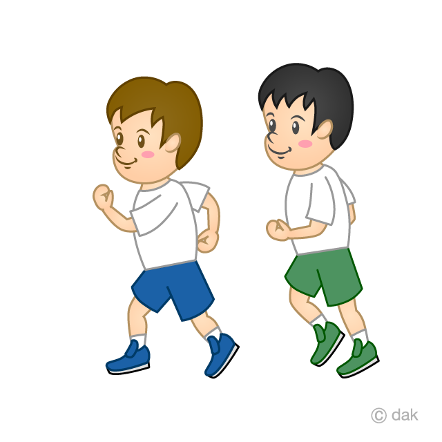 Child to jog