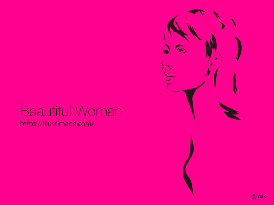 Women's intention image of graphic design