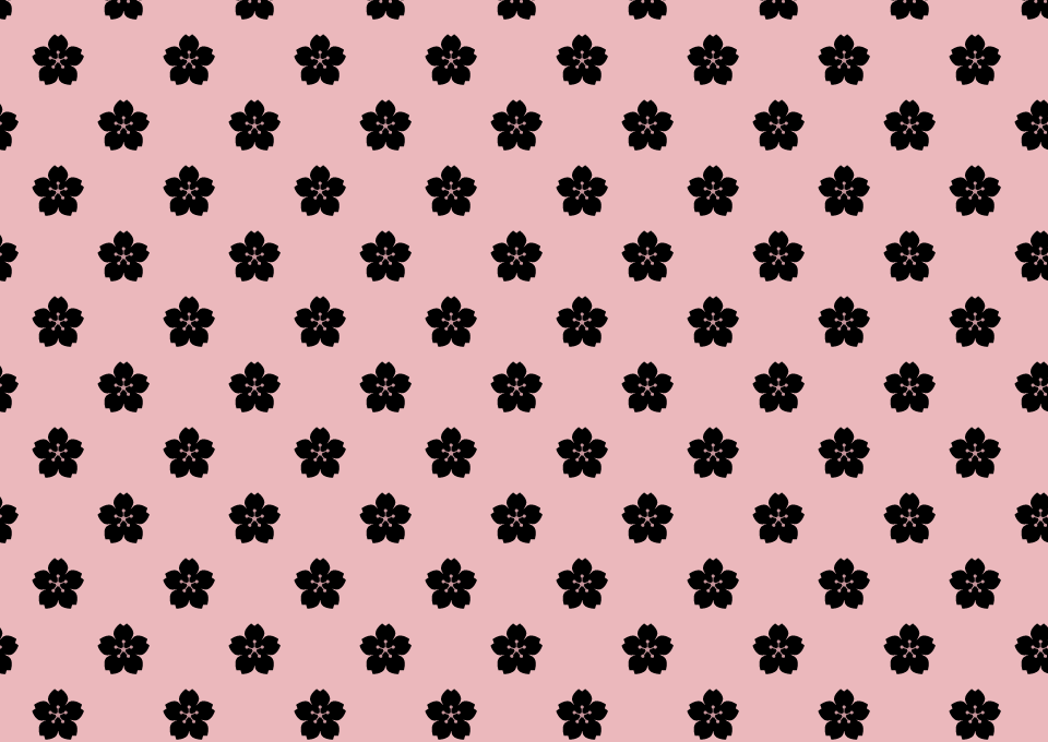 Japanese Pattern of Sakura Wallpaper