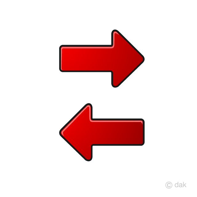 Return and arrow icon