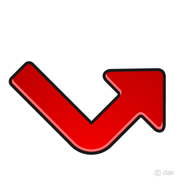 V-shaped recovery arrow icon