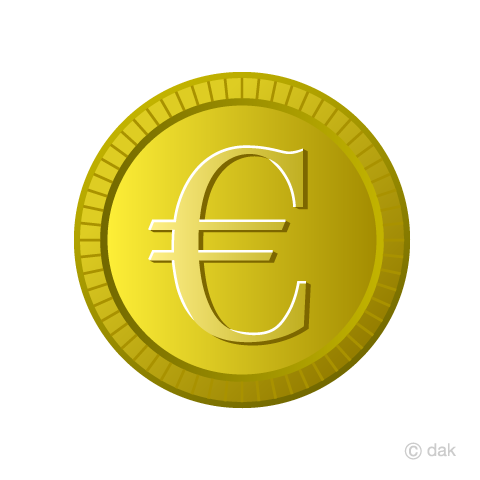 Free Euro Currency Coin Image Free Cartoon Clipart Graphics Ii
