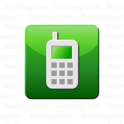 Contact cell phone icon