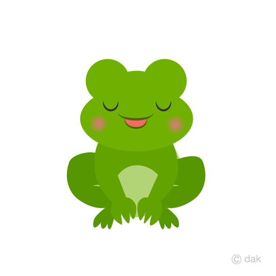 Frog to bow clip art