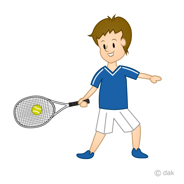 Men's Tennis Clip Art