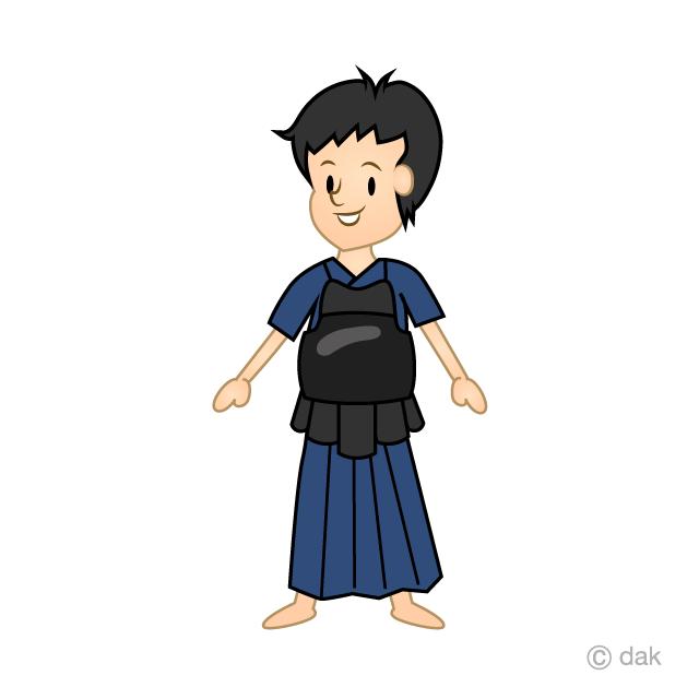 剣道の無料イラスト素材イラストイメージ