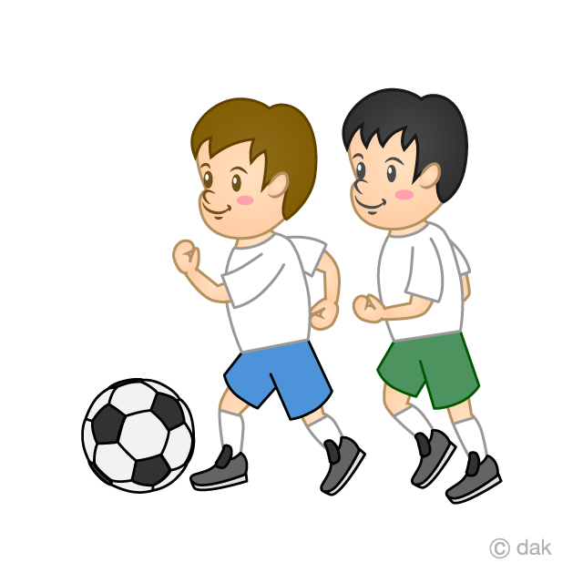 Children's football clip art