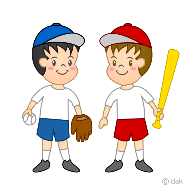 Children's baseball clip art