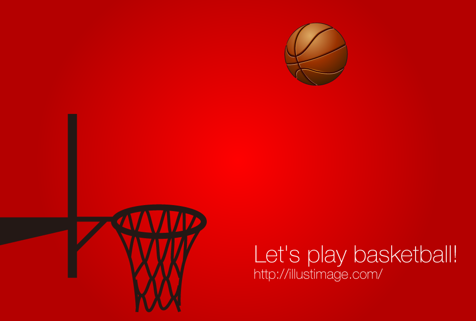 Three point shoot graphic design of basketball