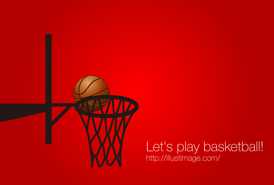 Basketball Shoot Graphic Design