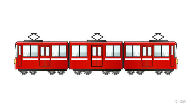 3両編成の京浜急行電車