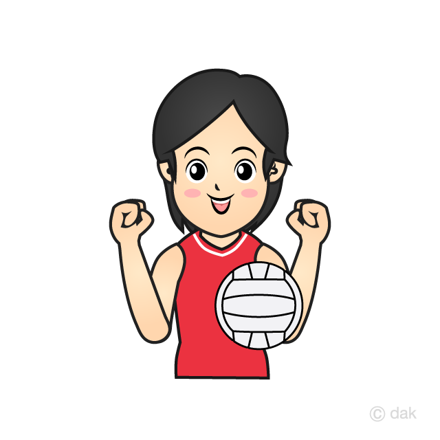 Women's volleyball player