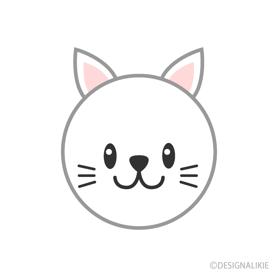 Cute cat face