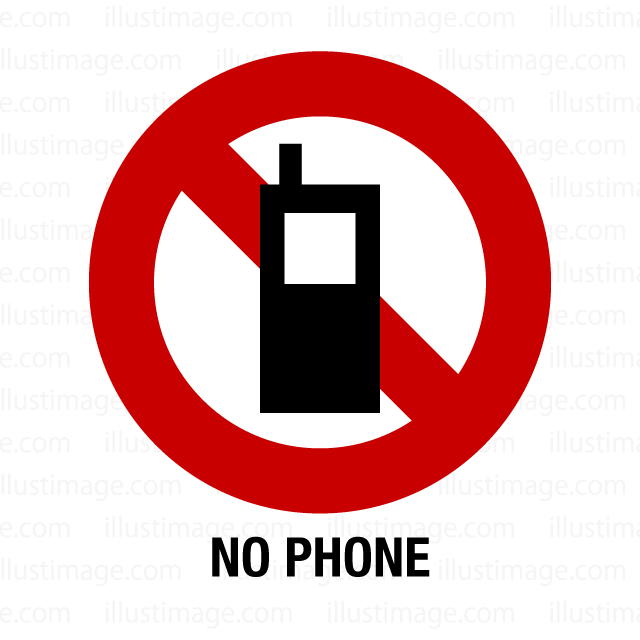 Labeling of the mobile phone ban