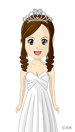 Wedding Dress Girl