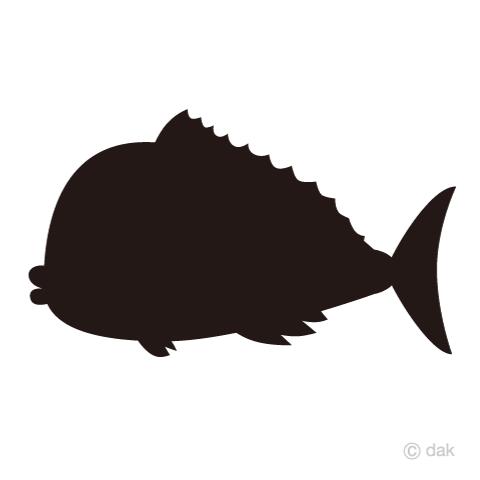 鯛シルエット