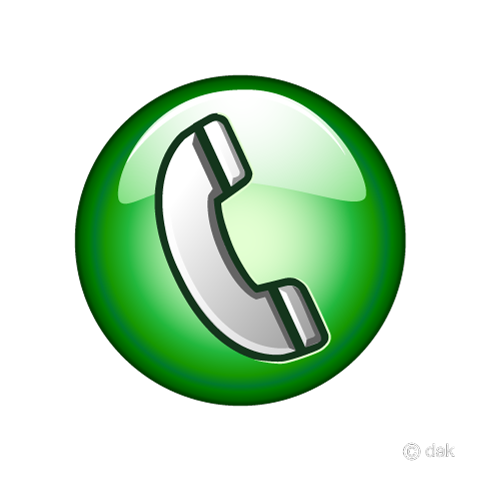 電話アイコンの無料イラスト素材|イラストイメージ