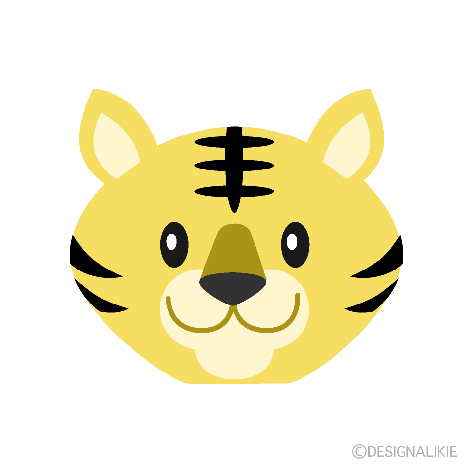 Simple Tiger's face