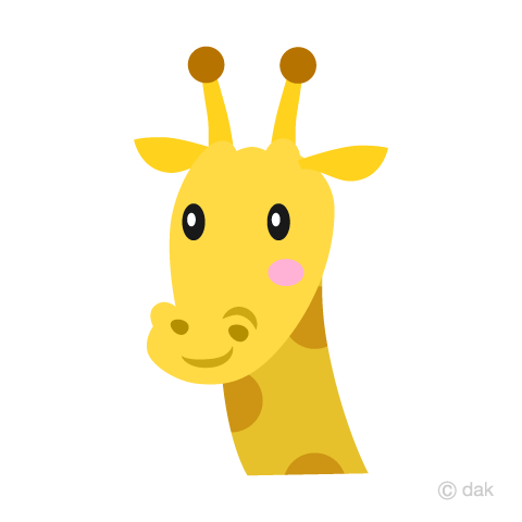 Simple Giraffe's Face