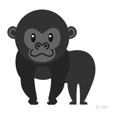 Child gorilla