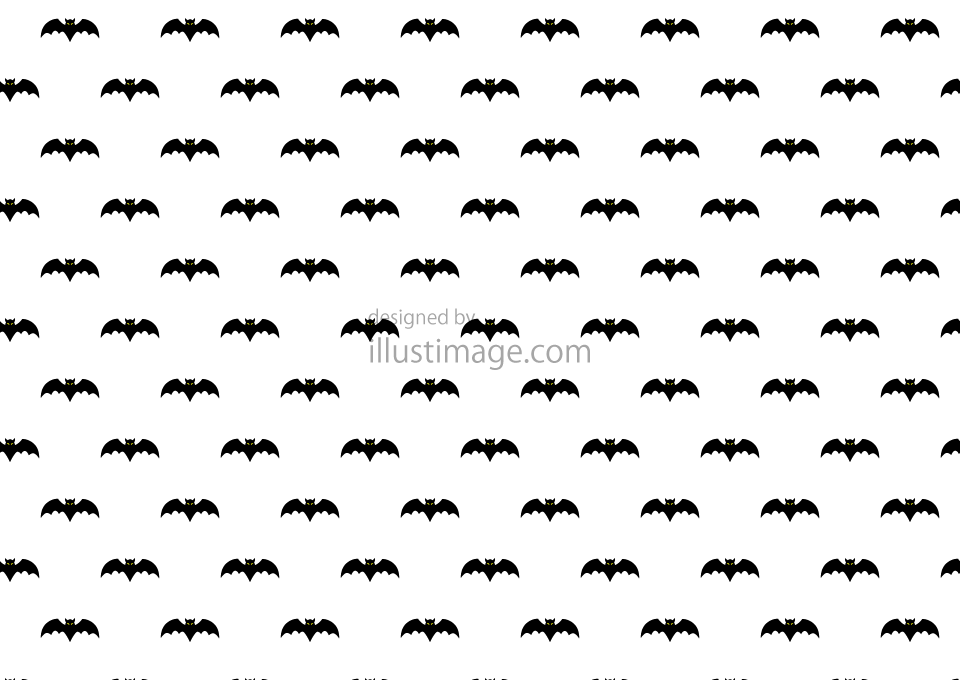 Bat pattern wallpaper