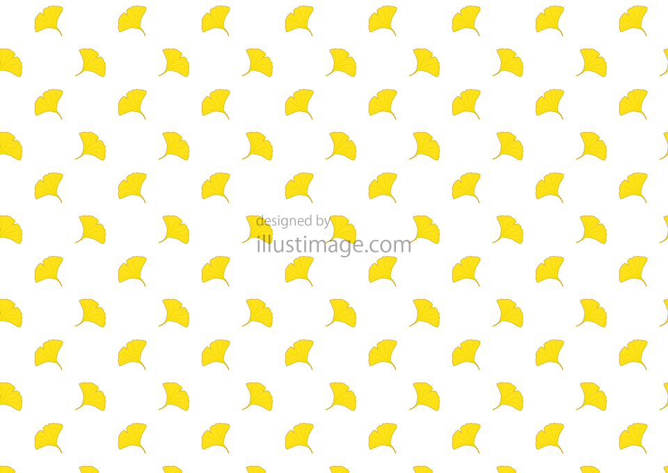 Ginkgo pattern wallpaper