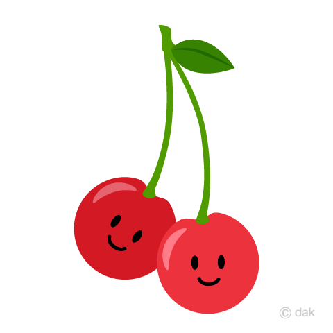 Cute Cherry Character