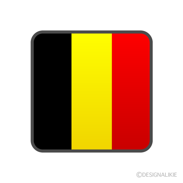 国旗 ベルギー