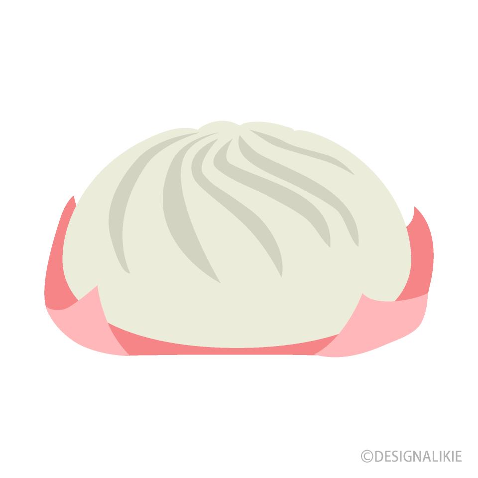 肉まんの無料イラスト素材イラストイメージ