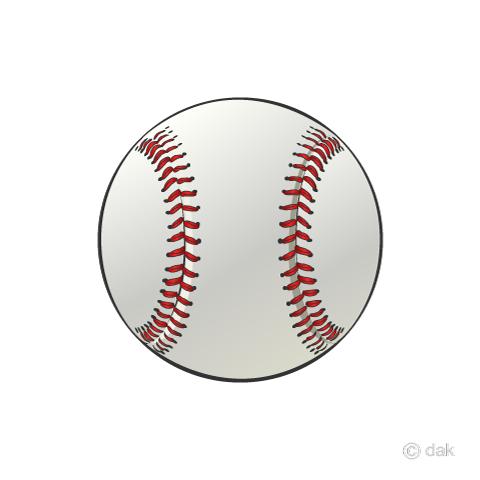 ソフトボールの無料イラスト素材イラストイメージ