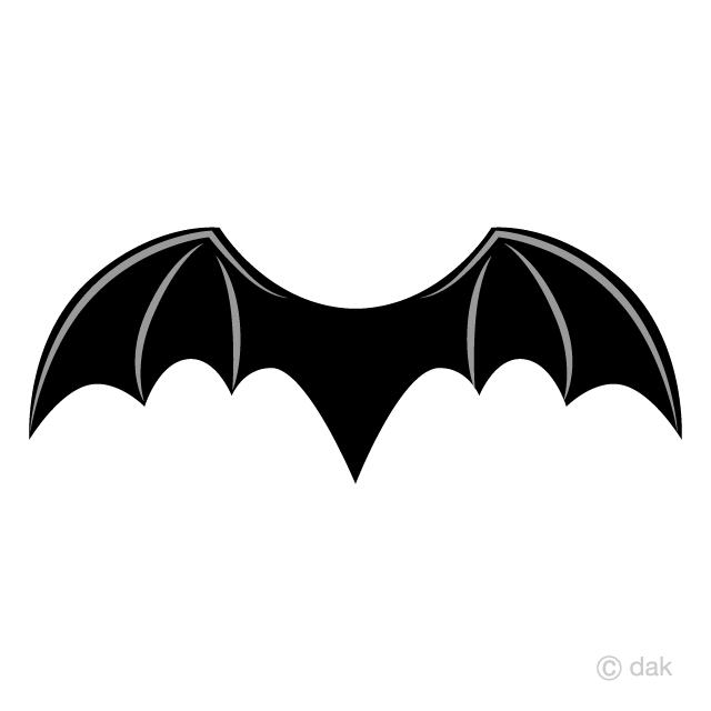 悪魔の翼の無料イラスト素材イラストイメージ