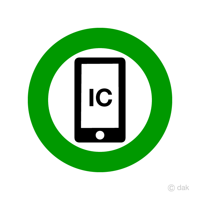 Smartphone IC available sign
