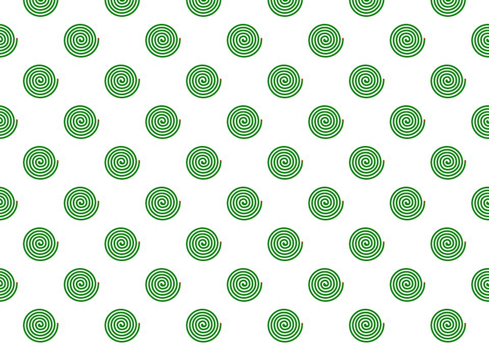 蚊取り線香の壁紙の無料イラスト素材イラストイメージ