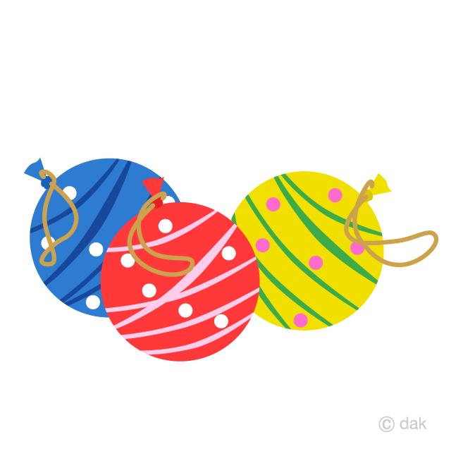 水風船ヨーヨーイラストのフリー素材|イラストイメージ
