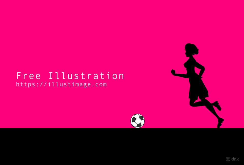 「サッカー選手 イラスト ピンク」の画像検索結果