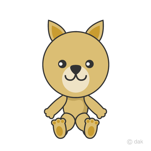 Cute Dog character