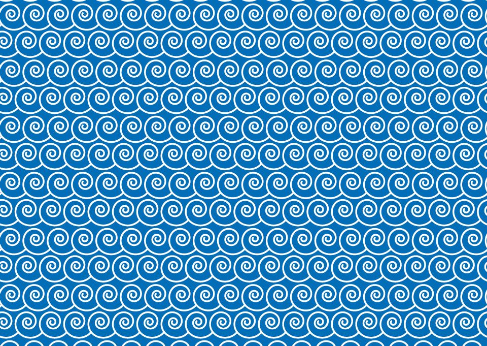 波模様の壁紙の無料イラスト素材イラストイメージ
