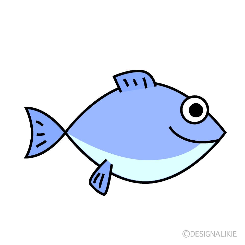 魚のイラスト無料素材