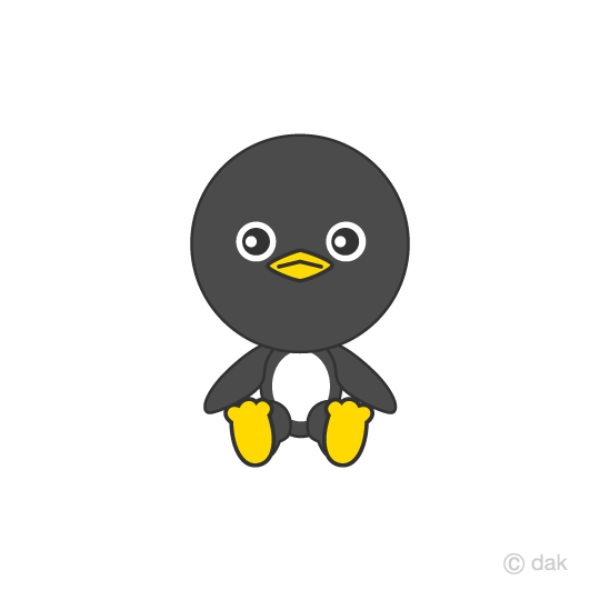 Sitting penguin